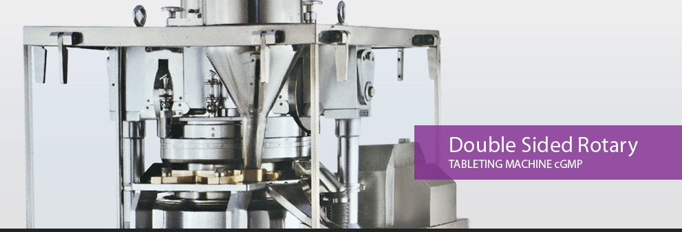 Double Sided Rotary Tableting Machine cGMP Manufacturer and exporter in india